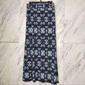 4/$30 Roz & Ali Python Snake Print Maxi Skirt 3X